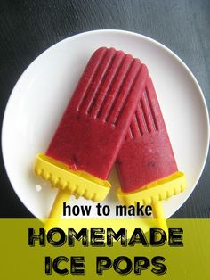 How to Make Homemade Popsicles  - recipes and tricks for frugal, foolproof pops.  http://lifeasmom.com/summer-fun-make-homemade-popsicles/
