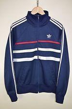 Винтажный 80s adidas первого ventex casuals ретромультяшная спортивная куртка спортивный костюм топ, размер средний