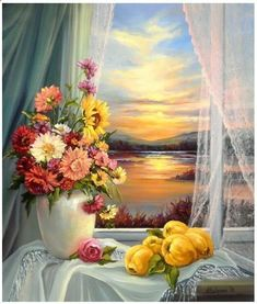 Gifs animados: O mundo é grande e cabe nesta janela sobre o mar. ...