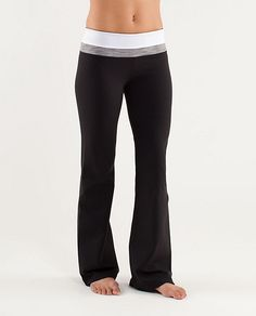 Groove Pant (Regular)  The Holy Grail of yoga pants. Period.  **Ladies I have these pants and they truly are the best yoga pants I have ever owned**--Lululemon