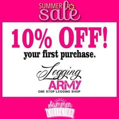 Legging army coupon code