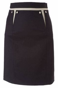 skirt with hipline accents at darts Skirt Outfits, Dress Skirt, Casual Mode, Ladylike Style, Work Skirts, Straight Skirt, Fashion Dresses, Rock, Womens Fashion