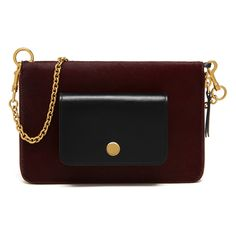 a47179b4c9e8 Mulberry Zip Around Clutch Wallet in Burgundy   Black Haircalf - Meghan  Markle s Handbags
