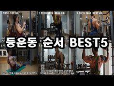 등운동 루틴 순서 BEST5 (등근육 만들기 운동 종류, 헬스장 운동순서) - YouTube
