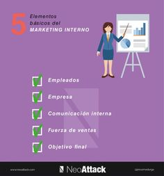 5 ELEMENTOS BÁSICOS DEL MARKETING INTERNO #INFOGRAFIA #INFOGRAPHIC #MARKETING