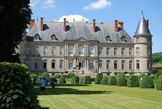 Château d'Haroué - #Lorraine #France  Ha! that must have been the ol family cottage! ;-)