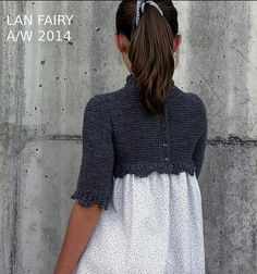 Vestido Valentine de Lan Fairy, Hand Knit