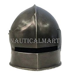 Larp Armour Gothic Sallet: Amazon.co.uk: Sports & Outdoors