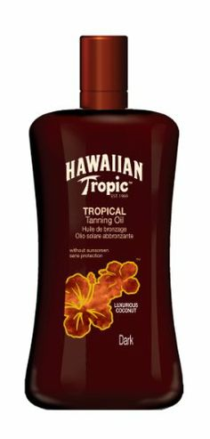 Hawaiian Tropic Tanning Oil ohne LSF, 200 ml | Your #1 Source for Beauty Products