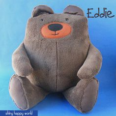 What you get Please note: This pattern is a digital PDF pattern. $8.99 Meet Eddie! He's a big, huggable teddy bear with soft, suede­ish pads on his pa