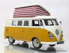 Schuco 1:43 1972 Volkswagen T1 Camper