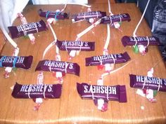 Candy airplanes for my son's Disney Planes party!!