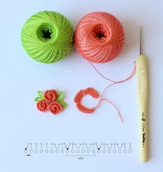 Crochet brooch in butterfly shape tutorial instructions – ArtofitThis miniature crochet puff flower is perfect for your bridesmaid gift. Crochet Puff Flower, Crochet Flower Tutorial, Crochet Flower Patterns, Crochet Art, Thread Crochet, Love Crochet, Crochet Motif, Crochet Designs, Crochet Crafts