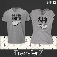 f4f9327078b4c PLAYERA COMBO SHE´S MY BESTIE. Camisetas De Mejores AmigasMejores ...