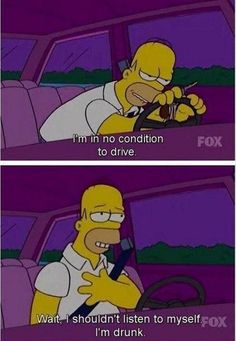 funny Homer Simpson meme