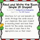 This is a fun activity to help your students recognize simple 2D shapes. Included are 4 cards each for square, rectangle, triangle and circle. Arra...