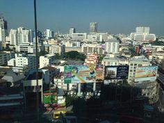 Dal nostro 13 piano del Central Parkinson Hotel di Bangkok