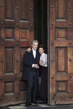 The Doctor and Missy - Dark Water-Death On Heaven - Saint Paul's Cathedral:
