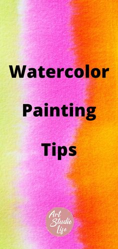 Get better at painting with watercolors by learning beginner watercolor painting techniques that can be used by anyone. Useful tips for watercolor painting. Best Watercolor Paper, Step By Step Watercolor, Watercolor Brushes, Watercolor Ideas, Watercolor Painting Techniques, Painting Tips, Watercolor Paintings, Artist Pencils, Beginner Art