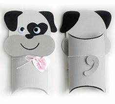 Silhouette Design Store - View Design #74580: dog pillow box valentine