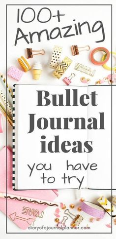 Looking for bullet journal ideas and inspiration? Click now to find over 100 bullet journal collections and page ideas to add to your bujo planner today!