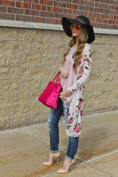 Sweets and Style Just Right: floral duster