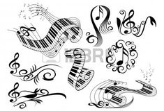 Find Music Key Notes Piano Keyboard Floral stock images in HD and millions of other royalty-free stock photos, illustrations and vectors in the Shutterstock collection. Thousands of new, high-quality pictures added every day. Key Tattoos, Piano Tattoos, Tattoo Flash Sheet, Find Music, Keyboard Piano, Tatting, Notes, Drawings, Floral