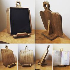 Cook book or ipad stand by EveAmberLay on Etsy https://www.etsy.com/uk/listing/387557068/cook-book-or-ipad-stand