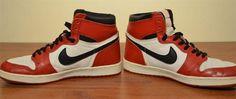 Nike Air Jordan I (1985) #vintage #jordan #nike #1980s #fashion