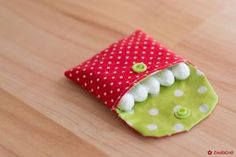 """Sewing instruction tampon bag """"TamTa"""" - with this tutorial you can .- Nähanleitung Tampontasche """"TamTa"""" – mit diesem Tutorial könnt ihr euch ganz ei… – Handwerk Sewing instructions tampon bag TamTa with this tutorial you can get your own egg - Craft Projects, Diy And Crafts, Sewing Projects, Crafts For Kids, Bunny Bags, Diy Y Manualidades, Tampons, Fabric Scraps, Sewing Crafts"""