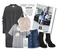 """""""Street Style - Get The Look"""" by hattie4palmerstone ❤ liked on Polyvore featuring Acne Studios, STELLA McCARTNEY, Ann Demeulemeester, Oliver Peoples, StellaMcCartney, acnestudios, anndemeulemeester, lucluc and oliverspeople"""