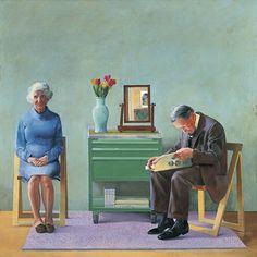 David Hockney, né en 1937 au Royaume-Uni, est un peintre et photographe anglais. Il est une figure du mouvement Pop Art des années 1960. En ...