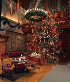 The Biltmore!  Love to visit at Christmas