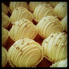 Lemon Chiffon Cake Balls