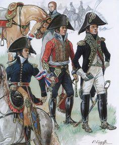 Aiutanti di campo e generali francesi