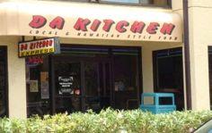 Da Kitchen - Maui .....affordable, hit the spot kind of place. Huge portions!