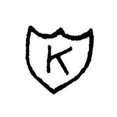 """Kurt Cobain's """"K"""" tattoo."""