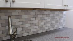 Grouted my tile backsplash today in my laundry room. If you ever thought about tiling and grouting a backsplash checkout this video to learn how.