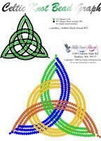 Celtic Knot Printable Bead Graph for Beading