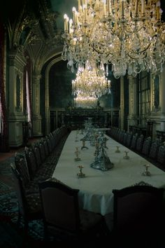 Dining room in the Beast's castle From: Portable Magic