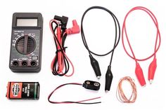 Kit includes all the electronic components to complete the Electrolyte Challenge project