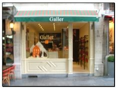 Galler Chocolate, Brussels. Favorite Belgian chocolate, chosen after an exhaustive taste test...;)