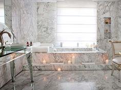 Banheiro da Tower Suite, projetado por Philippe Starck