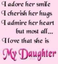 My Daughter is pretty awesome:)