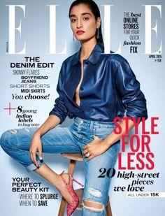 fashionmagscover: Kanishtha Dhankar – Elle India April 2015