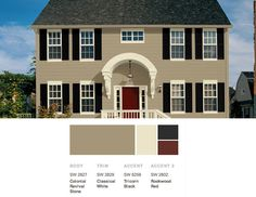 Exterior Color Scheme From The Lush Forests Of Pacific Northwest To Misty Harbors