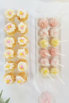 Treats by M Cakes Sweets Rice Krispy Treat Cones Cake Pops Lumiani Events