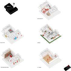 Immeubles de logements ZAC du Port – Pantin Architecture Visualization, Architecture Design, M And S Home, Site Analysis, Collage Illustration, Architectural Drawings, Design Process, Urban Design, Infographic