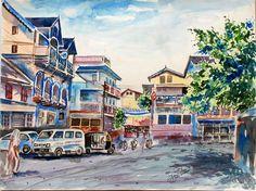 Street view from Ankleshwar, Gujarat..wtr clr