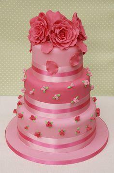 Sweet Rose buds by Vanilla Cake Shop, via Flickr